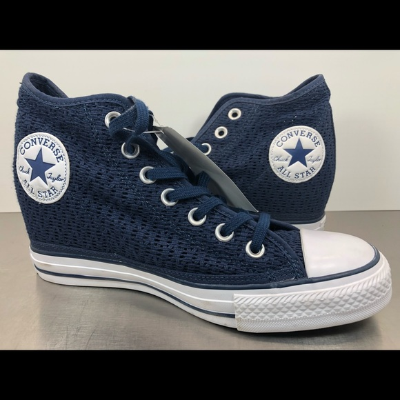 98045b18c4ad Converse CTAS Lux Hidden Wedge Fashion Sneakers.